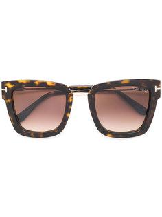 солнцезащитные очки с квадратной оправой Tom Ford Eyewear