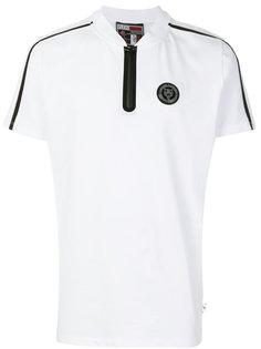 футболка с горловиной на молнии Plein Sport