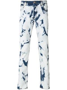 джинсы с линялым эффектом  Loewe