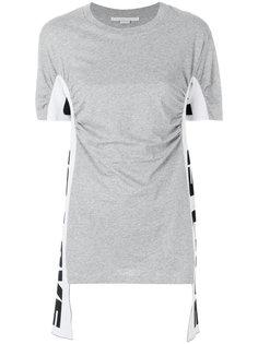 футболка с драпированной деталью Stella McCartney