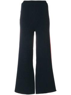 широкие брюки с полоской по бокам Stella McCartney