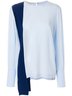 двухцветная блузка  Stella McCartney