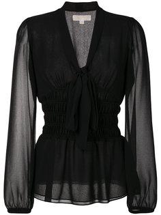блузка с завязкой на мягкий бант Michael Michael Kors