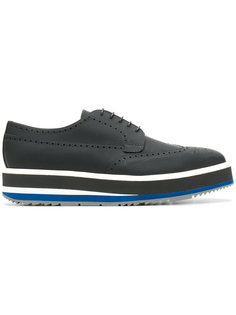 ботинки Дерби со шнуровкой Prada