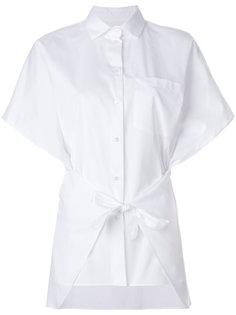 рубашка с завязкой на талии Valentino