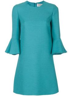 платье с расклешенными рукавами Valentino
