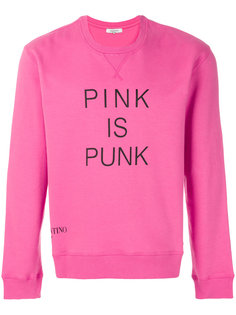 толстовка Pink is Punk Valentino