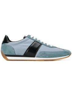 кроссовки с панельным дизайном Tom Ford