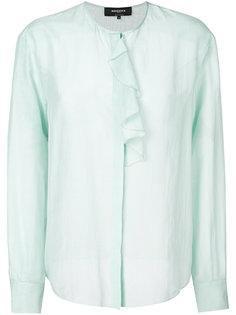 блузка с рюшами Rochas