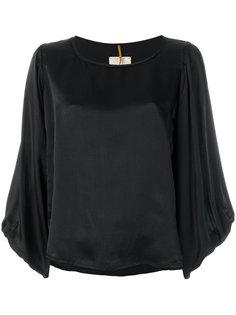 блузка с рукавами епископа Diega