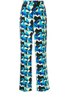 брюки с завышенной талией Marni