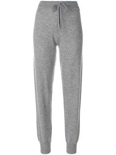 спортивные брюки с полосками по бокам Theory