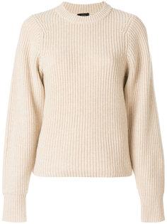 свитер ребристой вязки Joseph