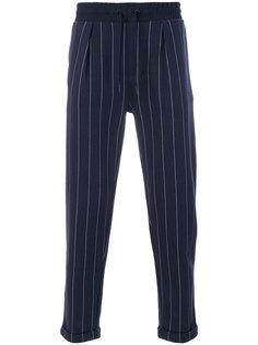 брюки в полоску Calvin Klein Jeans