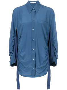рубашка с дизайном со сборкой Stella McCartney