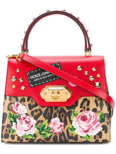 сумка-тоут с принтом Welcome  Dolce & Gabbana