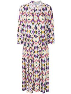 платье-миди с принтом Vivetta