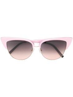 """солнцезащитные очки в оправе """"кошачий глаз"""" Matthew Williamson"""