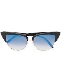 """солнцезащитные очки с оправой """"кошачий глаз"""" Matthew Williamson"""