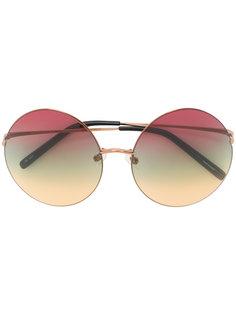 солнцезащитные очки с круглыми линзами  Matthew Williamson
