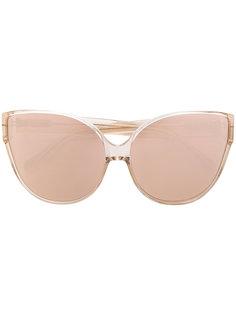 """солнцезащитные очки в оправе """"кошачий глаз"""" Linda Farrow"""