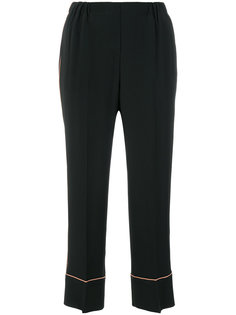 укороченные брюки с завышенной талией Nº21