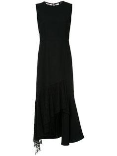 асимметричное платье с оборками Goen.J