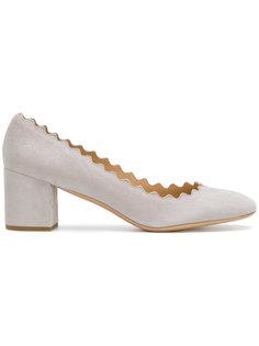туфли на каблуках-столбиках Lauren  Chloé