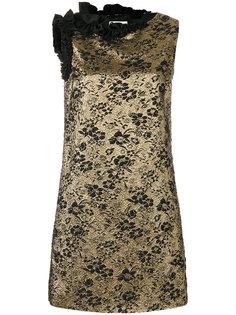 жаккардовое мини-платье  Lanvin