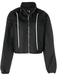 куртка-бомбер с капюшоном Rick Owens