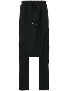 брюки с заниженным шаговым швом    Alchemy