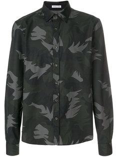 рубашка с абстрактным принтом Tomas Maier