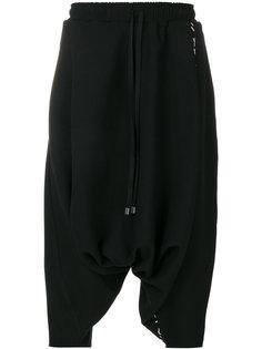 укороченные брюки со шнурком на талии Alchemy