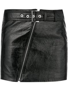 короткая юбка с ремнем Manokhi