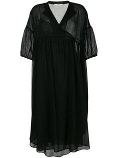 платье-рубашка свободного кроя Odeeh