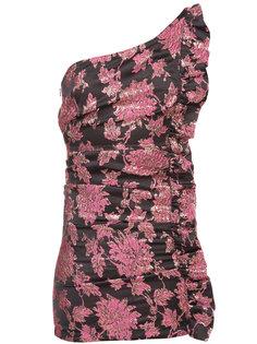 платье на одно плечо с цветочным жаккардовым узором  For Love And Lemons