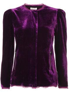 приталенный пиджак с необработанными краями Love Shack Fancy