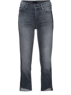 укороченные джинсы с полосками по бокам Mother