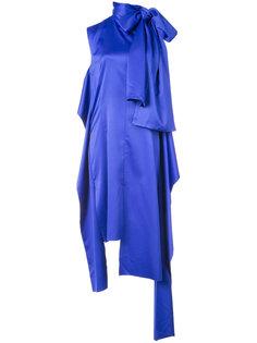 платье с завязками на шее Solace London