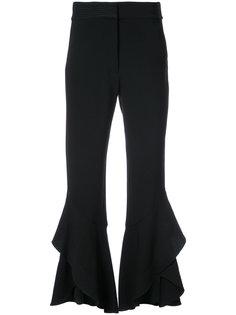 укороченные брюки клеш  Tanya Taylor