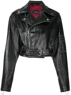 байкерская куртка свободного кроя Manokhi