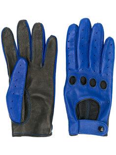 перчатки с контрастными панелями Manokhi
