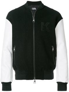 куртка-бомбер Karl Karl Lagerfeld