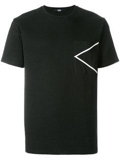 футболка с карманом K Karl Lagerfeld