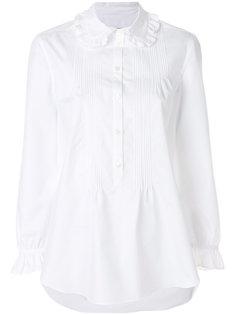 рубашка с рюшами Burberry