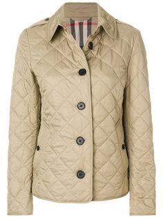 стеганая куртка с геометрическим узором Burberry