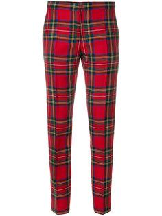 классические брюки в шотландскую клетку Burberry