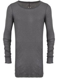 прозрачный свитер с круглым вырезом Rick Owens