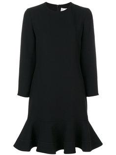 платье шифт с расклешенным подолом Victoria Victoria Beckham
