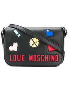 мини-сумка с логотипом  Love Moschino